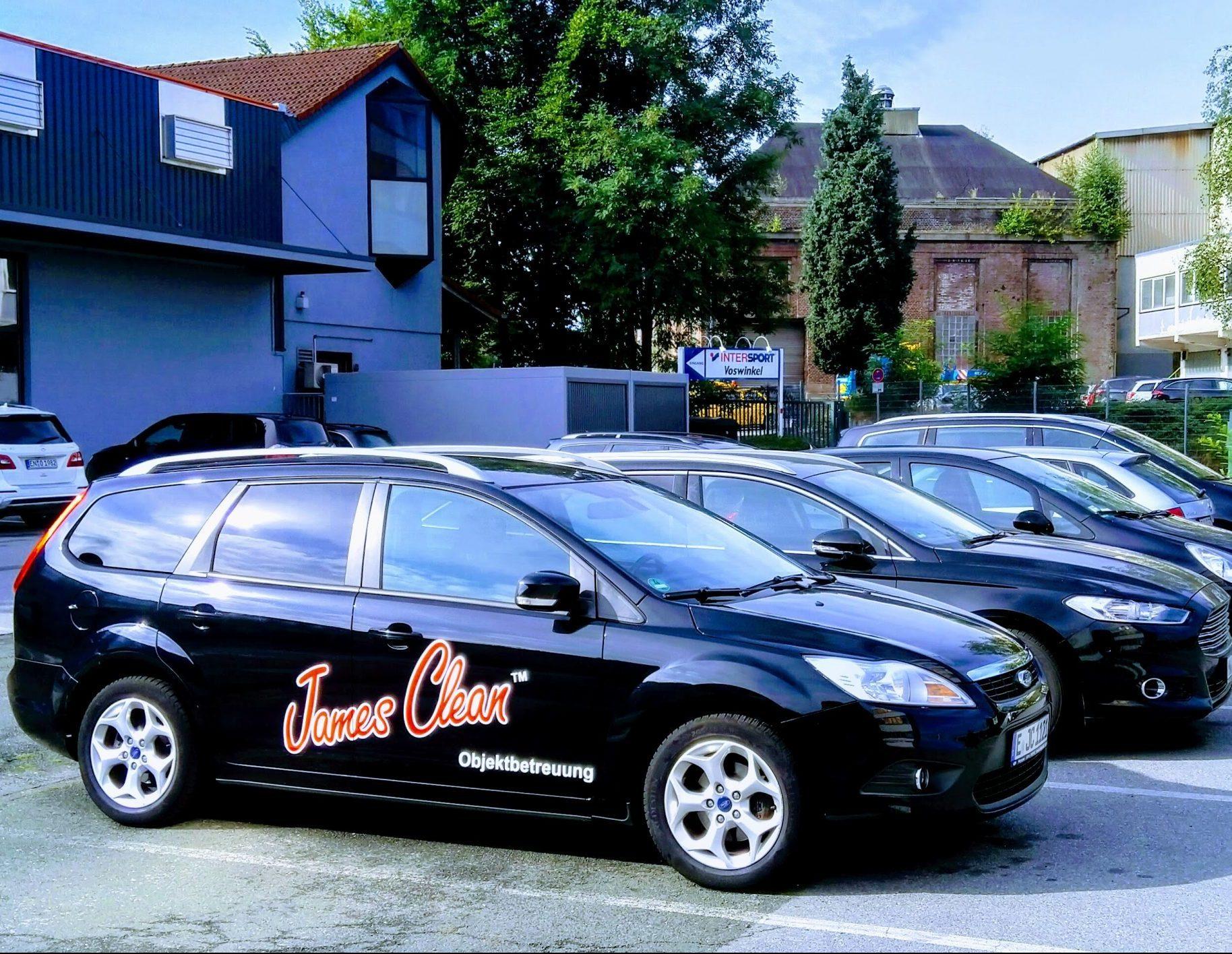 Unsere Serviceautos von JAMES CLEAN aus Mönchengladbach