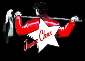 Logo - Wischen ist Macht JAMES CLEAN GMBH Ihr Servicepartner seit 1996 aus Mönchengladbach